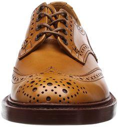 [トリッカーズ] Tricker's Tricker's Full Brogue Derby Shoe / BURTON - Calf - (Double Leather Sole)