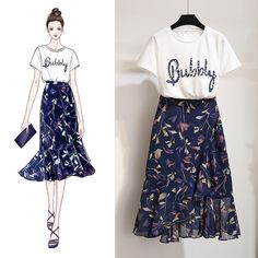 ideas skirt outfits fall casual for 2019 Trendy Dresses, Nice Dresses, Casual Dresses, Fashion Dresses, Maxi Dresses, Asian Fashion, Look Fashion, Womens Fashion, Summer Dress Outfits
