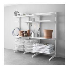 IKEA - ALGOT, Pfosten/Fuß/Netzdrahtkörbe