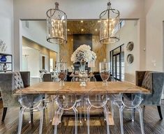 Eye-Opening Unique Ideas: Dining Furniture Makeover Fabrics outdoor dining furniture home.Outdoor Dining Furniture How To Build. Dining Room Table Centerpieces, Modern Dining Room Tables, Outdoor Dining Furniture, Dining Room Design, Centerpiece Ideas, Ghost Chairs Dining, Acrylic Dining Chairs, Dining Room Chairs, Clear Dining Chairs