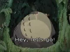 Hey Let's Go, English dubbed version from Disney release. Song edited for my use in class. Disney Songs, My Neighbor Totoro, Choir, Letting Go, Let It Be, Videos, Music, Youtube, Greek Chorus