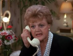 Murder She Wrote (insistent phone call)