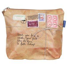 Disaster Designs Paper Plane Wash Bag  | Temptation Gifts