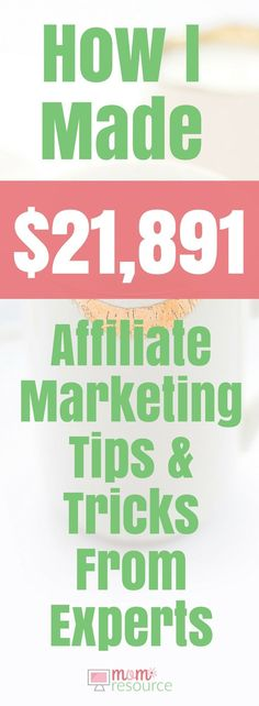 Affiliate Marketing Course Case Study: After taking this affiliate marketing course I've made over $21,000 from affiliate marketing within 5 months. This affiliate marketing course is full of tips & training & ideas for beginners & for bloggers. If you follow these tips you WILL make money! All you need is a wordpress blog & you can start earning passive income from your website. Here's how I did it & exactly how you can too! http://www.momresource.com/affiliate-marketing-course-review/
