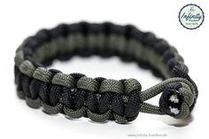 Infinity-Freedom Paracord Armband