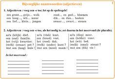 Bijvoeglijke naamwoorden (adjectieven) [1] : voeg een -e toe ...