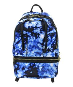 This Blue & Black Tie-Dye Brody Leather-Trim Backpack by Cynthia Rowley is perfect! #zulilyfinds