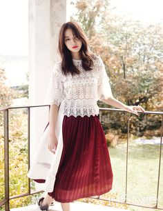 Shin Min Ah and Jo Jung Seok - InStyle Magazine October Issue '14