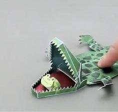 Fun paper sculptures: http://www.boredpanda.com/japanese-paper-toys-kamikara/?_t=1&_f=featured%3cbr/%3e%3cbr/%3e