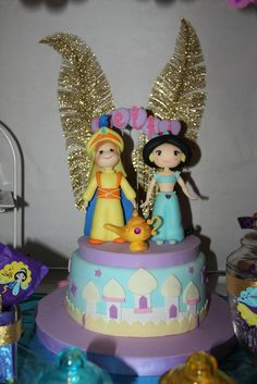 """Photo 2 of 33: Birthday """"Delfi turned 5 with Jasmine and Aladdin""""   Catch My Party"""