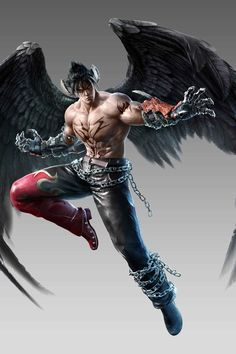 View an image titled 'Devil Jin Art' in our Tekken Fated Retribution art gallery featuring official character designs, concept art, and promo pictures. Tekken 7 Jin, Tekken Jin Kazama, Game Character Design, Character Art, Tekken Wallpaper, Body Reference Drawing, Art Reference, 4k Wallpaper For Mobile, Character Wallpaper