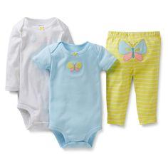 novas 2014 Carters Original conjuntos de roupas de bebê Carters meninas meninos bodysuits bebe infantil calça bebê recém nascido terno em Co...