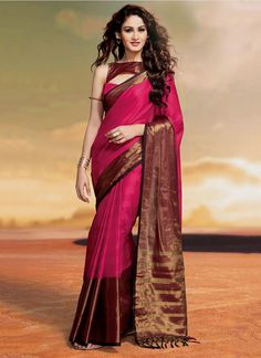 Shop online from the largest collection of indian saree. Buy this cotton   patch border work designer saree for casual and party.
