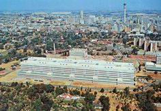 Johannesburg Hospital 1980's Johannesburg Skyline, African Vacation, Third World Countries, Africa Travel, Live, South Africa, Places To Go, Travel Photography, Pretoria