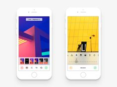 As you might remember, I started a challenge for myself to try my best at redesigning the current VSCO app as the current one is terrible. I've been wanting this myself for a long time . Video Camera App, Vsco App, Flat Design Icons, Dashboard Design, Ios Design, User Experience Design, Customer Experience, Mobile App Design, Mobile Ui