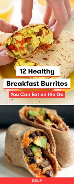 These breakfast burrito recipes are healthy, easy, and can be frozen to eat later! Make them ahead and pop them in the freezer for a breakfast that you and the kids will love. Add sausage for protein or swap eggs for tofu to make them vegan.