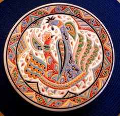 Crimean Tatar ceramic plate