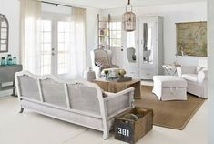 South Shore Decorating Blog: What I (Still) Love Wednesday: All White Rooms