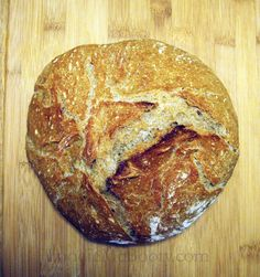 Sometimes it's okay to be lazy!  Crusty, No-Knead Bread.
