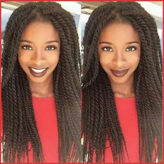 Marley Twist Hairstyles 148951 Beautiful Twists Marley Style See the 10 Best Twist Hairstyles Havana Twist Hairstyles, Micro Braids Hairstyles, Summer Hairstyles, Cool Hairstyles, Evening Hairstyles, Hair Styles 2016, Medium Hair Styles, Natural Hair Styles, Short Marley Twists
