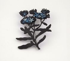 Forget Me Not Brooch by Nina Ellis