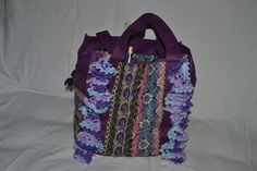 Front of Altered Bag for knitting