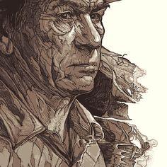 No Country for Old Men by StudioKxx Krzysztof Domaradzki, via Behance