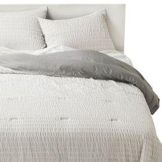 Room Essentials® Printed 'X' Seersucker Comforter Set