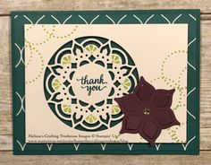 Project made with the Eastern Palace Suite by Stampin' Up!