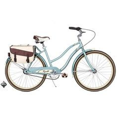 "26"" Huffy Regatta Women's Cruiser Bike, Sea Foam"