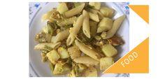 My egg, potato and pasta recipe, a Bangladeshi snack