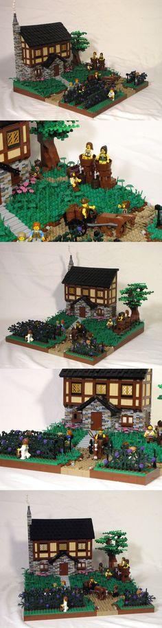 Ye Olde Winery #LEGO #Winery