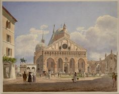 The Cathedral of Verona in 1845 by Jacob Von Alt Jakob Alt (German 1789 – 1872)
