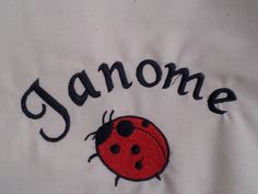 Embroidery Design on a Janome machine