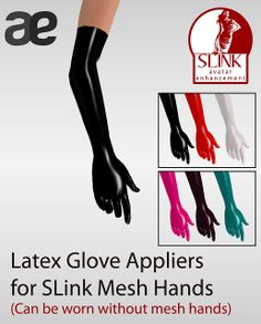 Ad for SLINK GLOVES LATEX | Flickr - Photo Sharing!
