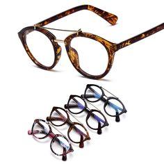 Find More Eyewear Frames Information about So real nerd glasses Women  Computer Goggles leopard Frame Eyeglasses 3e2e995049