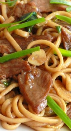 Shanghai Noodles - The Daring Gourmet Noodle Recipes, Pork Recipes, Asian Recipes, Whole Food Recipes, Dinner Recipes, Cooking Recipes, Ethnic Recipes, Oriental Recipes, Chinese Recipes