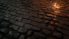 ArtStation - brick wall texture in Unreal 4, Martin Teichmann