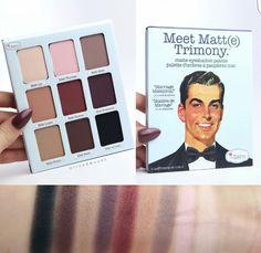 The Balm - Meet Matte Trimony palette