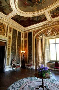 Highclere Castle - Music room