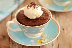 3 Ingredient Microwave Mug Nutella Brownie