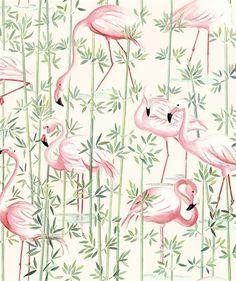 Tissu Flamingo  via Goodmoods