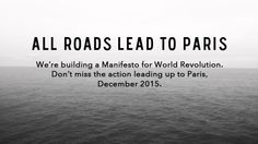 All Roads Lead To Paris [Adbusters]