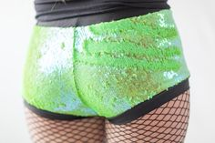 Lime green sequin color changing (allow 6-10 weeks for delivery)