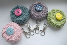 Crochet Pattern - Vaseline case keychain I love Vaceline, I need to make these....now- The Supermums Craft Fair