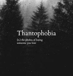 Thantophobia loss fear Bestes Bild Club is part of Uncommon words - Thantophobia loss fear Thantophobia loss fear Unusual Words, Weird Words, Rare Words, Unique Words, Cool Words, Fancy Words, Big Words, Deep Words, Pretty Words