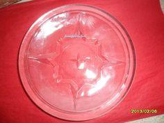 Small Glass Plate  Aperatif Dish  Found In by GlassEyedGoblin, €8.00