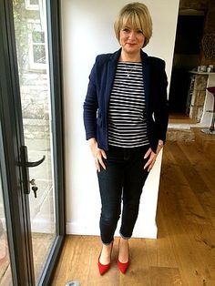 What I wore this week – work outfits for women over 40 | Midlife Chic | Bloglovin'