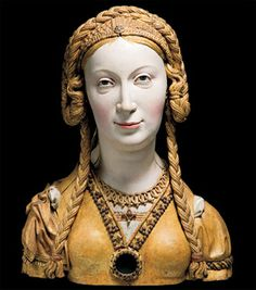 16th c. reliquary bust