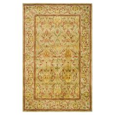Tufted New Zealand wool rug with a Persian motif.  Product: RugConstruction Material: 100% New Zealand wool...